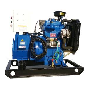 De houten Reeks van de Generator van het Biogas van de Macht van het Schip 10kw