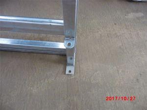 Cancello di scivolamento d'acciaio galvanizzato resistente dell'iarda del bestiame