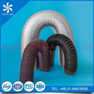 Condotto di alluminio flessibile semirigido con i morsetti per il riscaldatore (4  X 8 ', 4 viti)