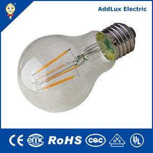 Marcação de vidro transparente RoHS 3W-8W E27 LED lâmpada de incandescência