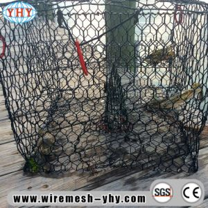 Galvanizado en caliente interior de malla de alambre Hexagonal recubierto de PVC para los Estados Unidos