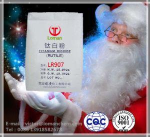 Het Rutiel van het Dioxyde van het Titanium van de goede Kwaliteit TiO2/de Chemische Fabriek van China Loman van het Dioxyde van het Titanium Anatase/