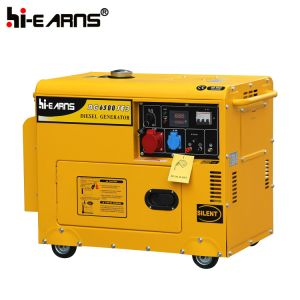 Tipo de silencioso Air-Cooled conjuntos de geradores a diesel (DG6500SE)