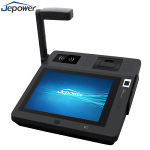 Leitor de RFID NFC Ecrã táctil de ponto de venda Caixa Registradora Tudo em Um pagamento de facturação sistema Android terminal POS