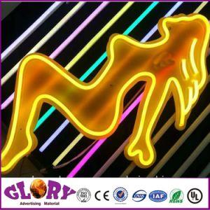 Cartel de neón de iluminación LED Neon Flex decorativos
