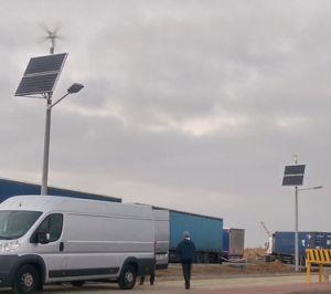 De openlucht Nieuwe Zonne LEIDENE Spaander CREE van de Straatlantaarn 12m100W-