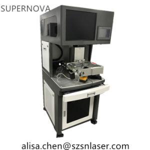 El punto focal pequeño de 20um marcadora láser de fibra