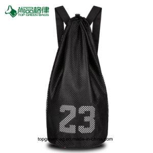 Große Kapazitäts-Basketball-Trainings-Seildrawstring-Rucksack-Beutel anpassen