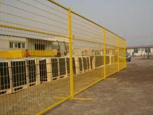 移動可能なPVCは6ftx10FTカナダの一時塀に塗った