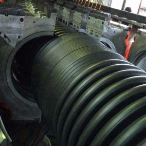 Doble pared de la máquina de extrusión de tubo Corrugate