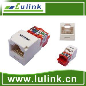 Cat5e de Module van de Hefboom van de Hoeksteen van FTP van 90 Graad voor Verkoop