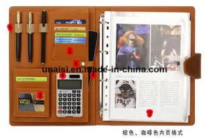 A4 종이 확장 가짜 가죽 파일 문서 조직자 사업 폴더