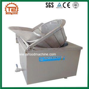 Pollo semiautomatico Porpcorn dell'acciaio inossidabile che frigge fabbricazione della macchina