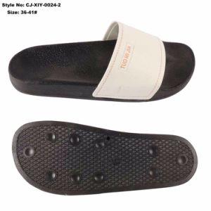 Les femmes diapositive personnalisée sandale PU pantoufles supérieure