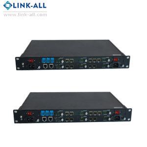 19 pouces6100-1UC u plusieurs Protocole Convertisseur de supports à fibre optique
