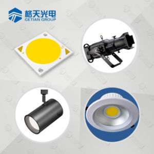 Alta Efficay 160-170lm/W 40W COB LED para iluminación de exterior