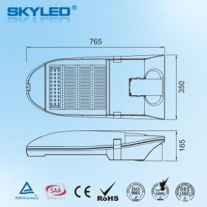 200W LEIDENE van uitstekende kwaliteit Straatlantaarn met IP 66 het Type van Module