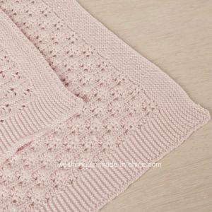 2017 новый дизайн хлопок трикотаж детское одеяло