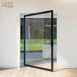 De Dubbele Aangemaakte Deur van uitstekende kwaliteit van het Aluminium van de Spil van het Glas