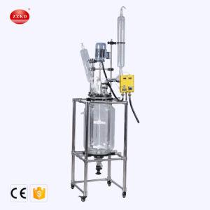 Exs-50L Gärungserreger zwei Schicht-Pyrolyse-Glas-Reaktor