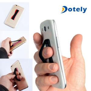 Pastilha elástica antiderrapagem Universal Celular alça de dedo o tirante de suporte do anel
