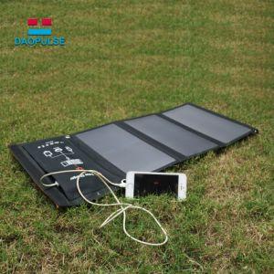 防水Foldable二重USBはHuaweiのための太陽電池の充電器を移植する