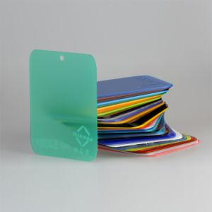 Het unilaterale Berijpte Gegoten AcrylProduct 5405p van /Plexiglass van het Blad