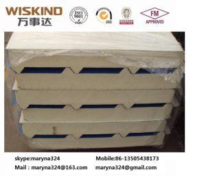 Largeur 1000mm*50mm de mousse de polyuréthane/uréthane panneau de toiture pour la construction de la tuile de toit