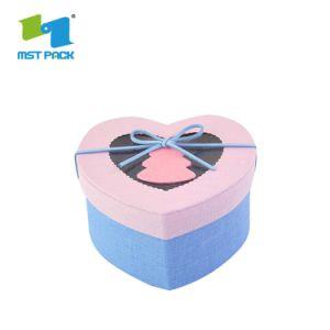 Mode Papier de haute qualité de l'emballage ronde Boîte cadeau Coffrets Cadeaux DVD CD personnalisé
