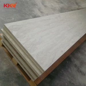 De Kunstmatige Witte Plakken van uitstekende kwaliteit van de Steen van de Oppervlakte van de Steen Stevige