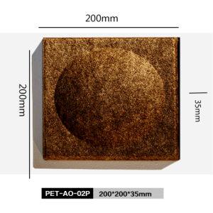 Akoestische Comités van de Polyester van de Reeks van de Decoratie van de Plaatsen van de koffie/van de Staaf de Openbare 3D