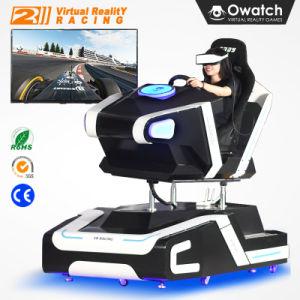 Negócios de arcada 9D Vr Cinema Carro de Corrida de Realidade Virtual