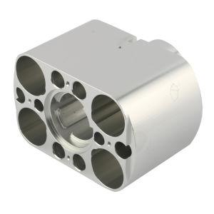 Serviço de usinagem OEM o alumínio 6061-T6 fresadora CNC parte
