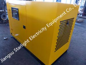tipo stabilito di generazione elettrico diesel Genset del baldacchino del generatore di potere di 120kw Volvo 150kVA