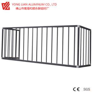 De langdurige Legering van het Profiel van de Uitdrijving van het Aluminium voor Omheining en Vangrail Zhl002