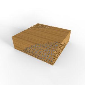 Bambusmöbel-Spitze-Kaffeetisch mit Unterbrecher-Mustern 9241