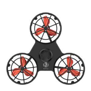 Divertido de alta qualidade em ligas de alumínio do Rotor Esquerdo Fidget Spinner Handsheld Anti-Stressmetal alívio do estresse do rolamento do dedo frio brinquedo infantil voar do rotor do giroscópio
