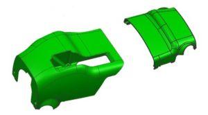 Vorm van de Injectie van de Dekking van het Stuurwiel van het Deel van de auto de Auto Plastic
