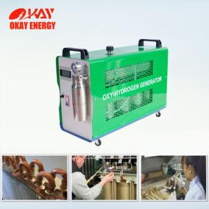 Portátil de Gas HHO hidrógeno del agua de la máquina de soldadura de latón