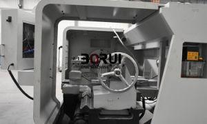 Tubo orizzontale automatico Qk1322 che filetta la macchina del tornio di CNC