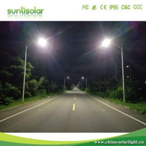 Venta caliente 30W Impermeable IP66 de la luz de calle solar integrada