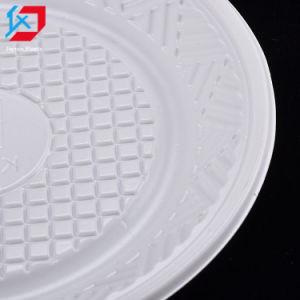 Plaque en plastique jetables pour l'alimentation