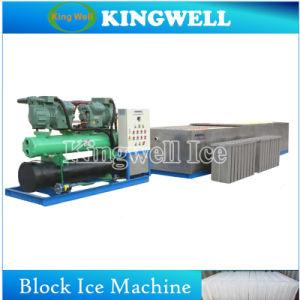 Ghiaccio in pani commerciale del creatore di ghiaccio della salamoia che fa macchina per la piccola pianta di ghiaccio