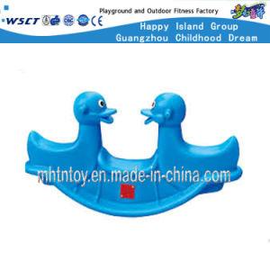 De plastic Rit van de Kinderen van het Hobbelpaard voor Kleuterschool HF-21501