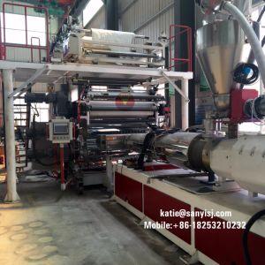 Indoor Phthalate de revêtements de sol en vinyle PVC de la machine gratuit Spc Flooring extrudeuse