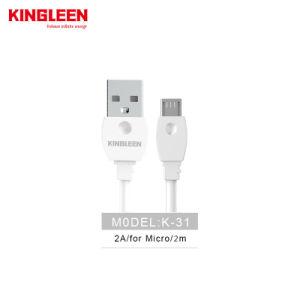 6FT 2 metros Micromobile teléfono USB Cable USB 2.0 de la carga rápida sincronización de datos Long Android Samsung Cable