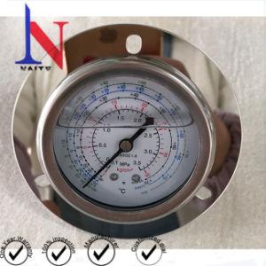 63mm Mainfold Medidor de pressão de fluido criogénico