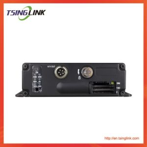 Lte 3G 4 Kanal-Fahrzeug bewegliches DVR mit WiFi