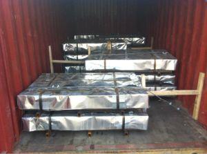 С полимерным покрытием PPGI заводская цена/PPGL металлических стальных листа крыши