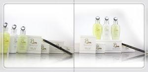 Mini botella de champú, el Hotel Comodidades baño Eco friendly